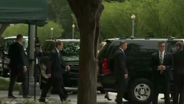 Para prezydencka wyruszyła z rezydencji Blair House do Białego Domu