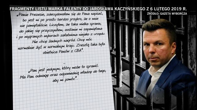 Fragmenty listu Falenty do Kaczyńskiego. Druga część