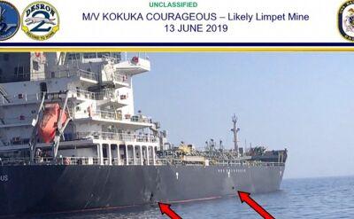 Iran odrzuca oskarżenia w sprawie ataku na tankowce w Zatoce Omańskiej