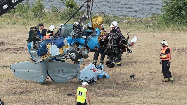 Eksperci obejrzeli wrak jaka-52.