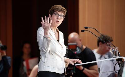 Szefowa CDU: zwiększenie wydatków na wojsko w interesie RFN