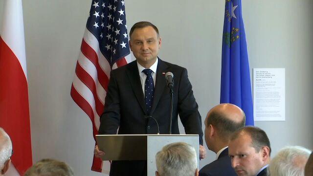 Prezydent Andrzej Duda otworzył Polski Tydzień Biznesu i Innowacyjności w Nevadzie