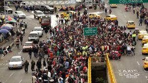 Tysiące Wenezuelczyków na peruwiańskiej granicy