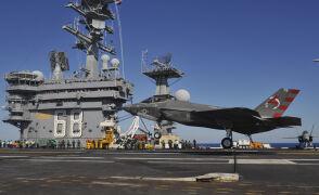 F-35 zawitał na lotniskowiec
