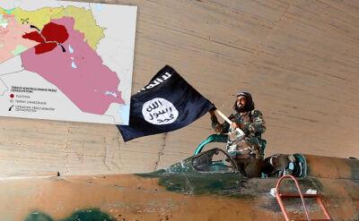 Tereny kontrolowane przez dżihadystów znacznie sięzmniejszyły