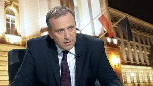 Schetyna: Adresy do polskiego rządu są absurdalne. Pomyłka winą Rosjan