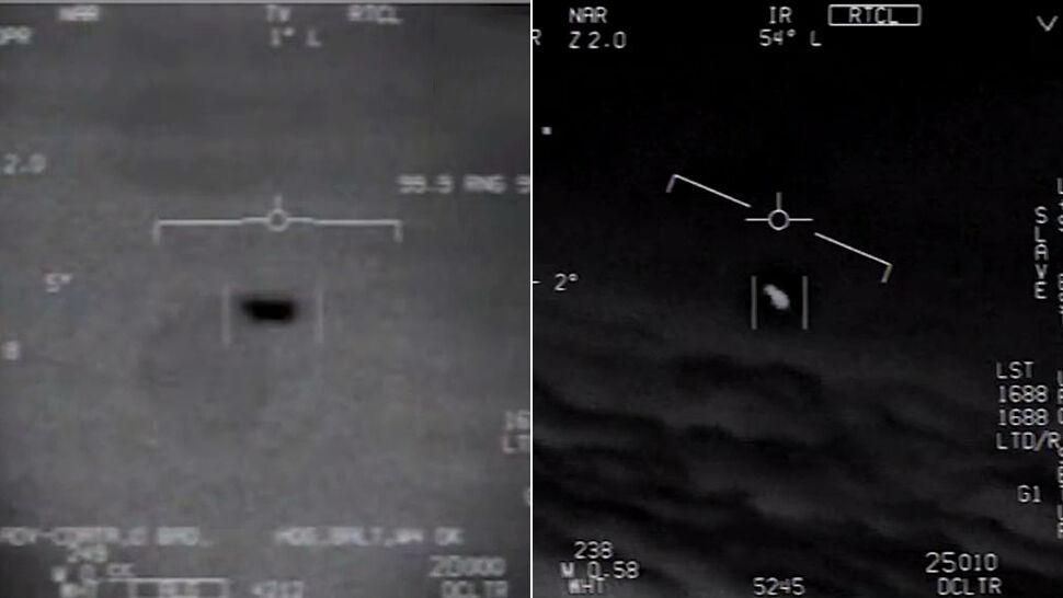 """""""To się obraca!"""". Odtajnione nagranie UFO. F/A-18 był za wolny"""