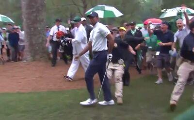 Tiger Woods o krok od kuriozalnej kontuzji