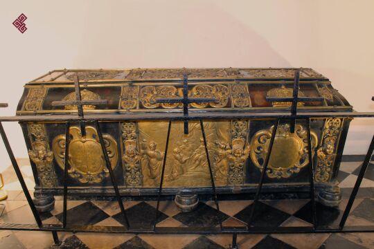 Sarkofag królowej Cecylii Renaty