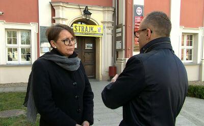 Dyrektor szkoły w Owińskach: probowałam uzyskać pomoc kuratorium, ale nie uzyskałam odpowiedzi