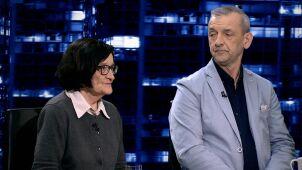 Krystyna Starczewska i Sławomir Broniarz w