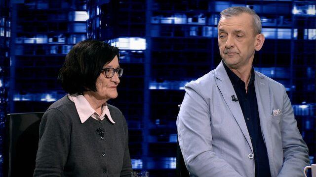 """Krystyna Starczewska i Sławomir Broniarz w """"Kropce nad i"""""""