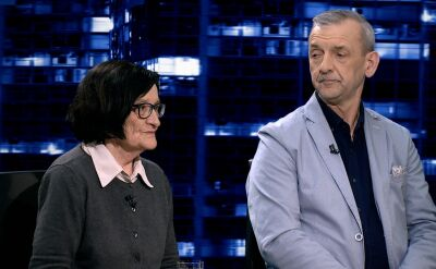 """Krystyna Starczewska i Sławomir Broniarz w """"Kropce nad i"""". Cała rozmowa"""
