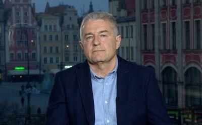 """Władysław Frasyniuk i Dariusz Martynowicz w """"Faktach po Faktach"""""""