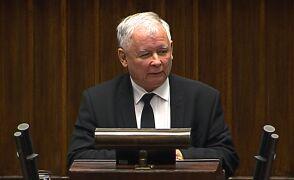 Kaczyński: rząd nie może decydować pod wpływem obcego nacisku