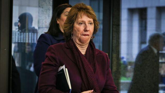 Catherine Ashton po spotkaniu z ministrami