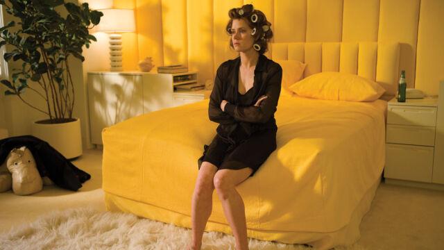 Na planie filmu -  Amy Adams