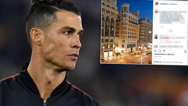 Ronaldo chwali się trzecim hotelem. Pierwsza inwestycja poza ojczyzną