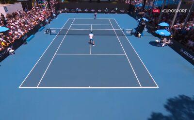 Hurkacz pokonał Novaka w 1. rundzie Australian Open