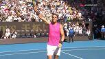 Nadal pokonał Carreno-Bustę w 3. rundzie Australian Open