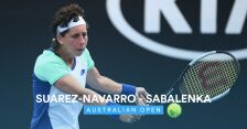 Skrót meczu Suarez-Navarro - Sabalenka w 1. rundzie Australian Open