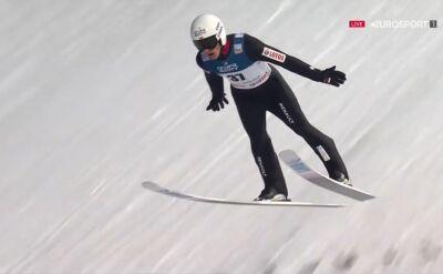 Skok Piotra Żyły z 1. serii konkursu indywidualnego w Zakopanem