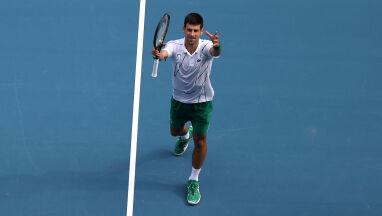 Poszło jak z płatka. 11. ćwierćfinał Djokovicia w Australian Open