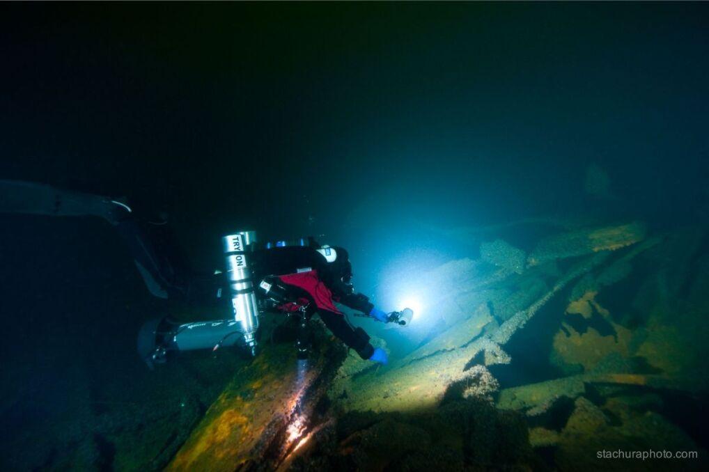 Wyprawa na podwodne cmentarzysko