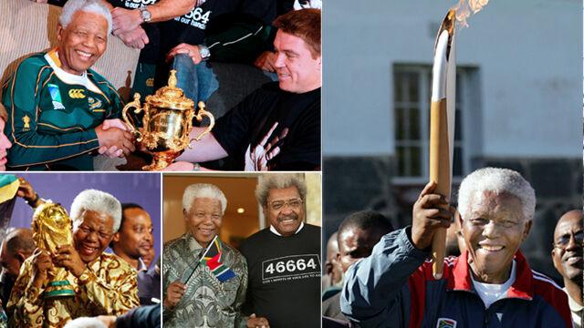 """""""RIP Tata Mandela"""". Świat sportu opłakuje legendarnego przywódcę"""