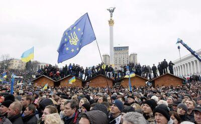 """""""To tutaj tworzymy politykę Ukrainy"""". Przywódcy opozycji na Majdanie"""