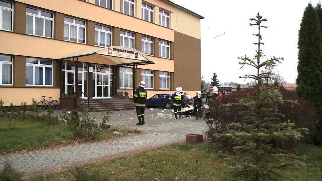 Mstów (woj. śląskie): Wiatr uszkodził dach szkoły