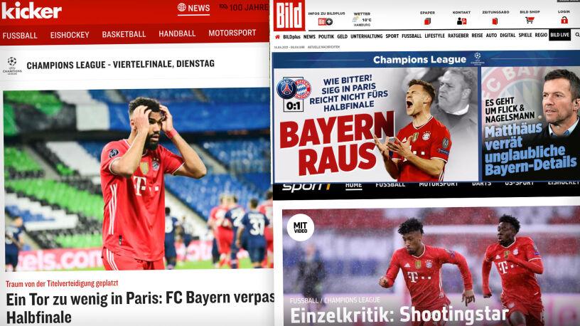 """""""Bayern wylądował na ziemi"""". Niemieckie media zapowiadają """"ważne decyzje w Monachium"""""""