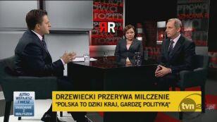 Sławomir Neuman o wywiadzie Drzewieckiego