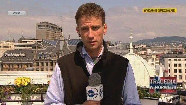 Wysłannik TVN24 o sytuacji w Oslo