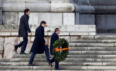 Uroczystości ekshumacyjne generała Francisco Franco