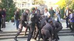 Antyrządowe protesty w Baku i brutalna akcja policji