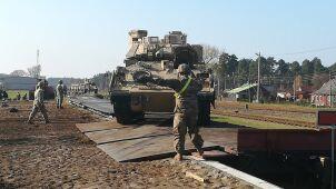 US Army z Teksasu na Litwę.
