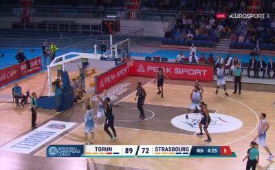 Hornsby królem trójek! Fantastyczny rzut koszykarza Polskiego Cukru Toruń
