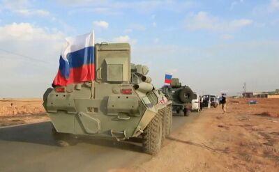 Rosyjskie patrole w Syrii