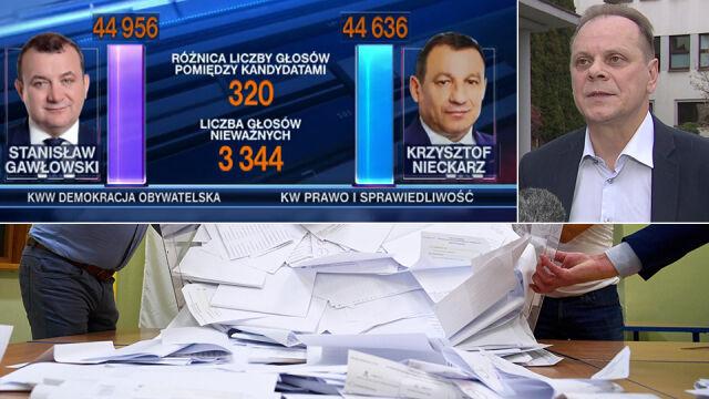 Komisarz wyborczy w Koszalinie: we wniosku PiS o powtórne liczenie głosów