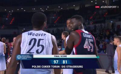 Polski Cukier Toruń pokonał SIG Strasbourg w 2. kolejce Ligi Mistrzów