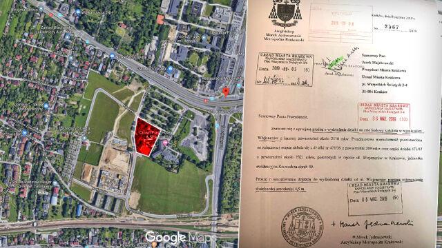 """Jędraszewski chce działki pod budowę kościoła. Krakowscy urzędnicy mówią """"nie"""""""