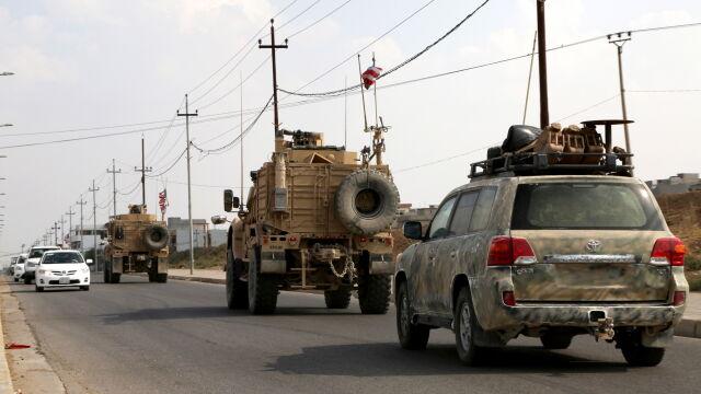 Bagdad: Amerykanie wycofujący się z Syrii są w Iraku tylko przejazdem