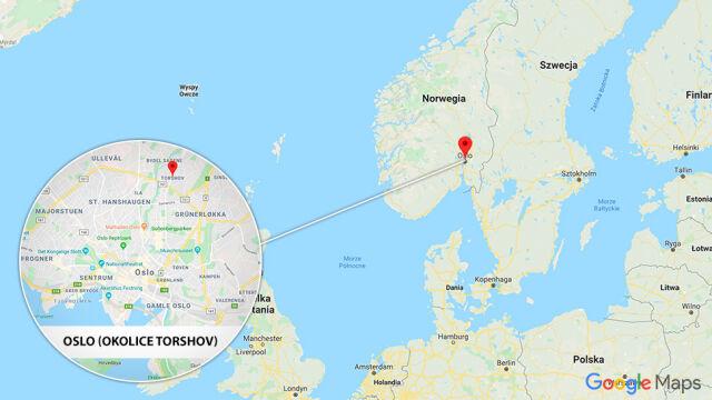 Uprowadzona karetka w Oslo, strzały. Media: są ranni, w tym dziecko