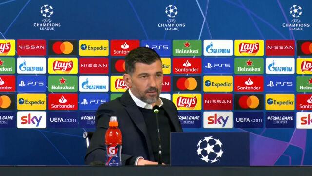 Ekspresowa konferencja prasowa. Trener FC Porto nie usłyszał żadnych pytań
