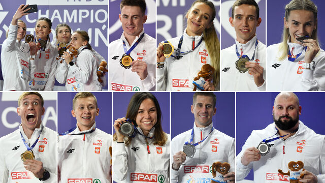 Polska dziesiątka. Tylko Brytyjczycy zdobyli w Toruniu więcej medali