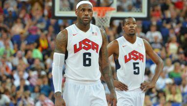 LeBron James i inne gwiazdy w szerokim składzie USA na igrzyska