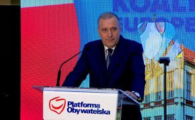 Schetyna zapowiada wniosek o wotum nieufności wobec szefowej MEN