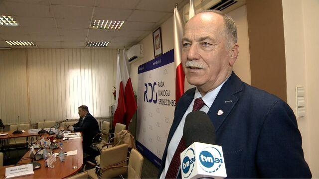 Proksa: nie było żadnej deklaracji czy stanowiska, że wychodzimy, czy nie negocjujemy
