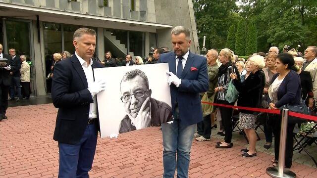 Kondukt pogrzebowy Grzegorza Miecugowa